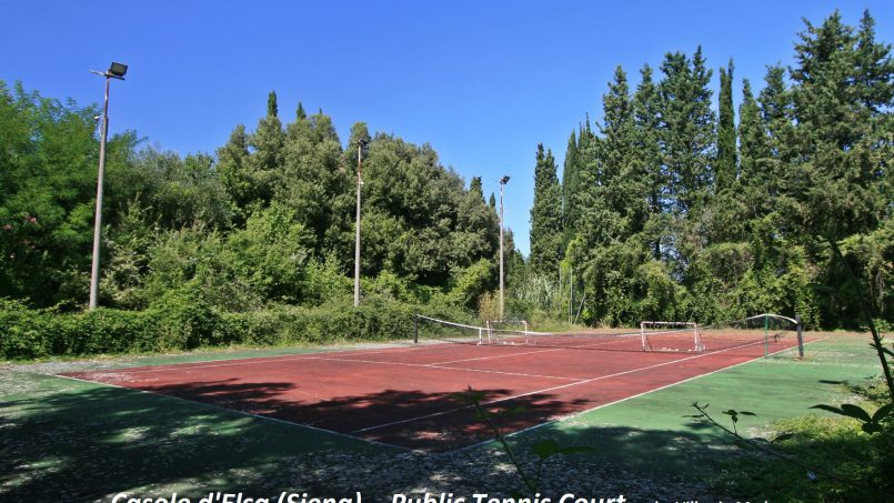 Village house Casa Lilia Tuscany Siena tennis