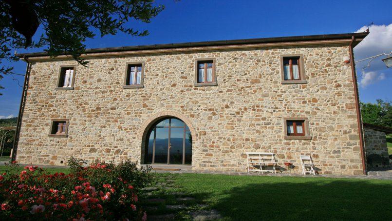 Stone farmhouse Villa Simpatia Tuscany Bibbiena 14