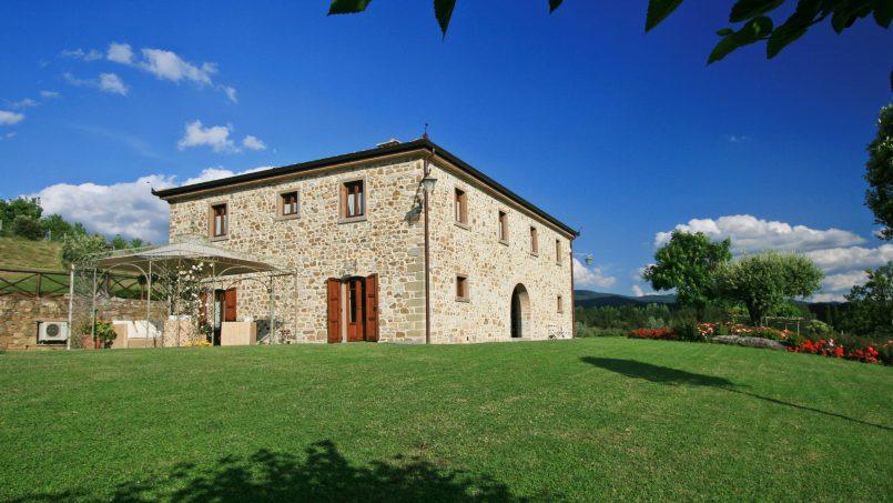Stone farmhouse Villa Simpatia Tuscany Bibbiena 15