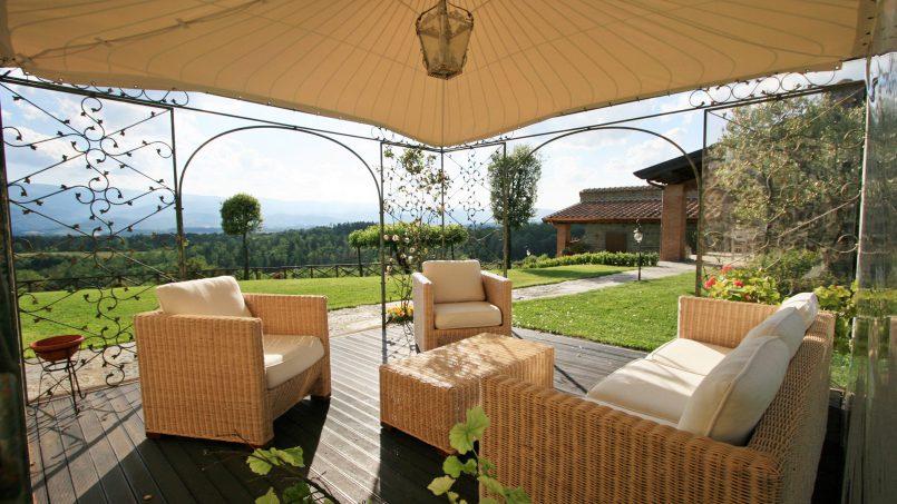 Stone farmhouse Villa Simpatia Tuscany Bibbiena 18