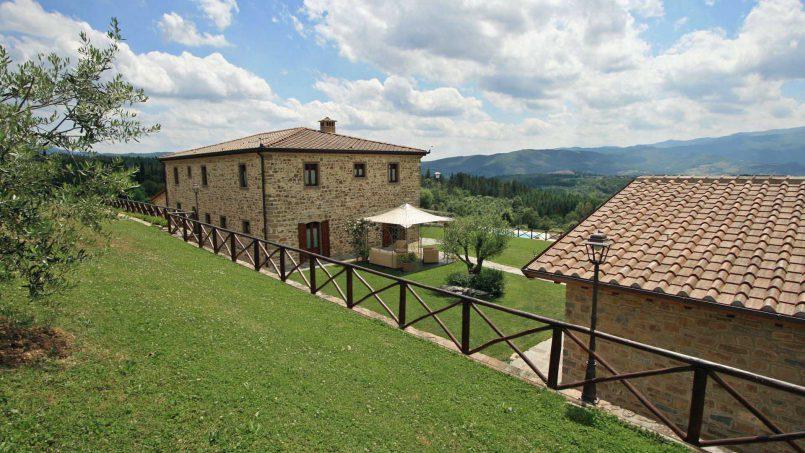Stone farmhouse Villa Simpatia Tuscany Bibbiena 19