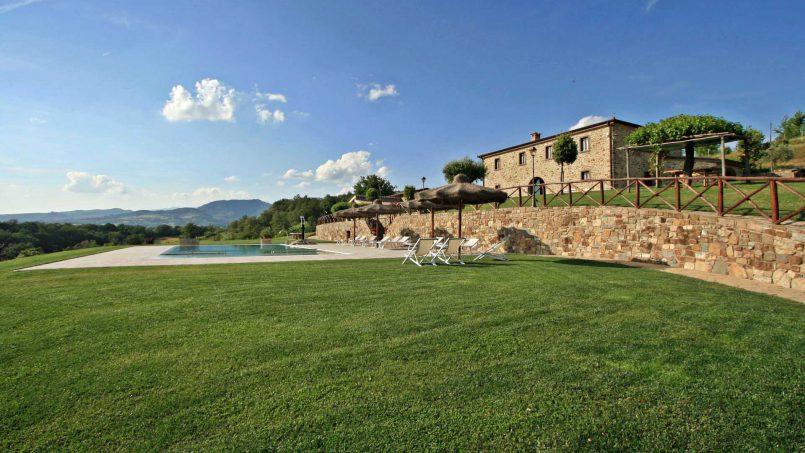 Stone farmhouse Villa Simpatia Tuscany Bibbiena 2