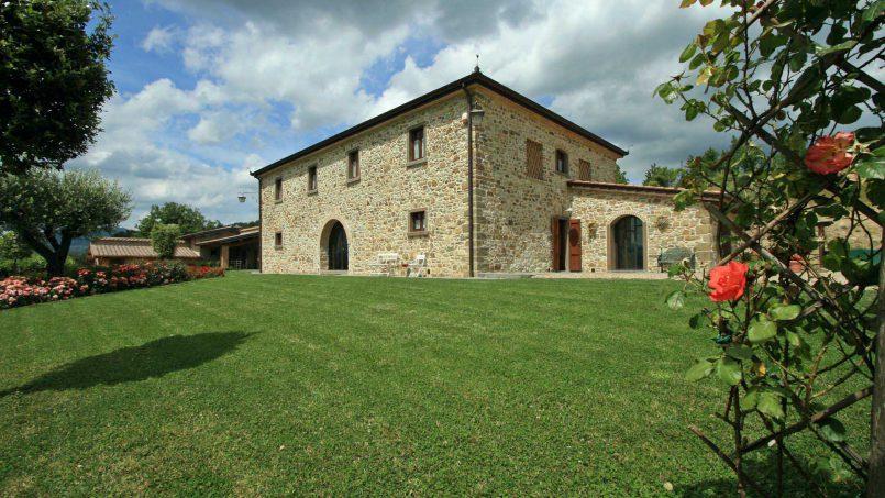 Stone farmhouse Villa Simpatia Tuscany Bibbiena 22