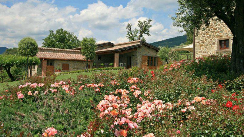 Stone farmhouse Villa Simpatia Tuscany Bibbiena 26