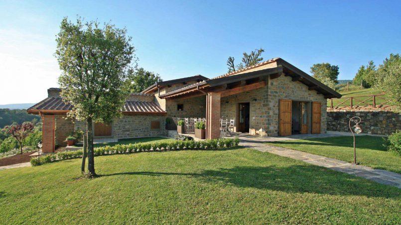 Stone farmhouse Villa Simpatia Tuscany Bibbiena 27