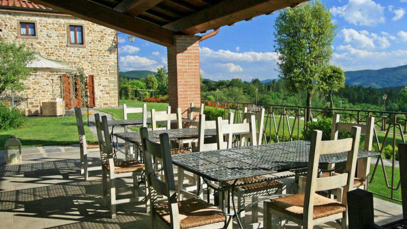 Stone farmhouse Villa Simpatia Tuscany Bibbiena 28