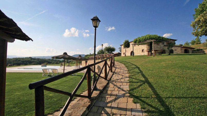 Stone farmhouse Villa Simpatia Tuscany Bibbiena 3