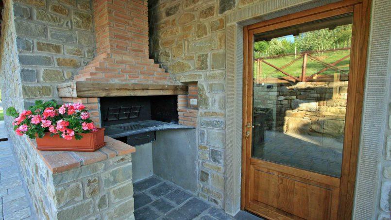 Stone farmhouse Villa Simpatia Tuscany Bibbiena 30