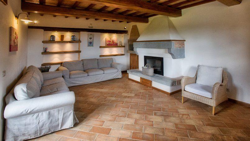 Stone farmhouse Villa Simpatia Tuscany Bibbiena 34