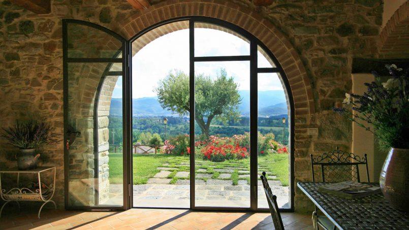 Stone farmhouse Villa Simpatia Tuscany Bibbiena 37