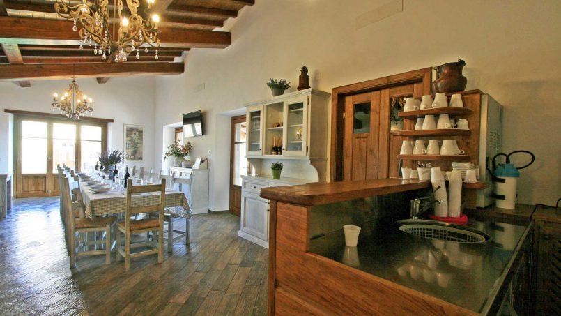 Stone farmhouse Villa Simpatia Tuscany Bibbiena 39