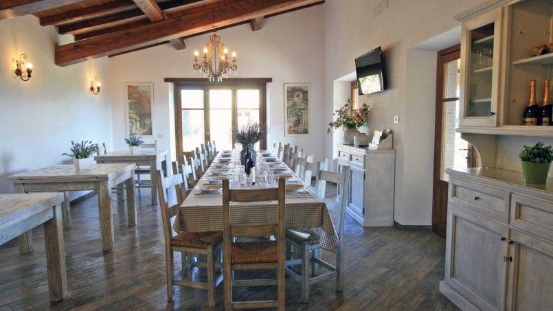 Stone farmhouse Villa Simpatia Tuscany Bibbiena 40