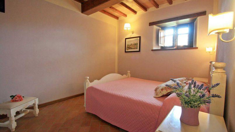 Stone farmhouse Villa Simpatia Tuscany Bibbiena 45