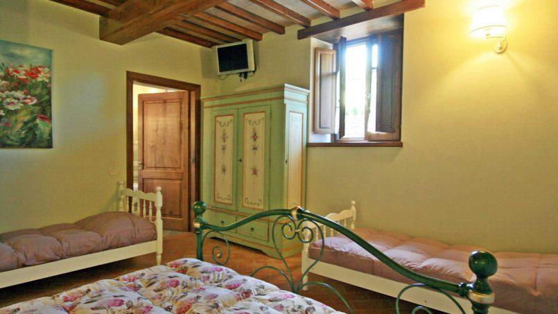 Stone farmhouse Villa Simpatia Tuscany Bibbiena 47