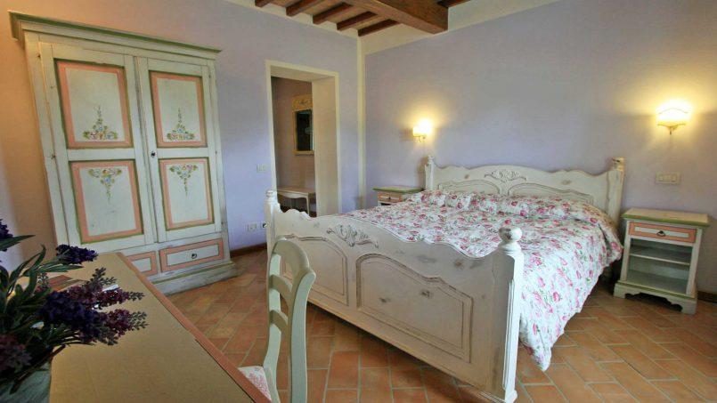 Stone farmhouse Villa Simpatia Tuscany Bibbiena 49