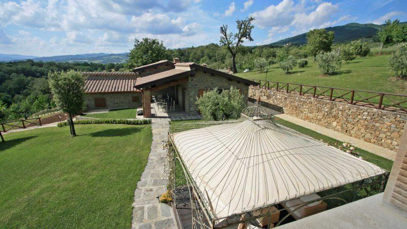 Stone farmhouse Villa Simpatia Tuscany Bibbiena 55