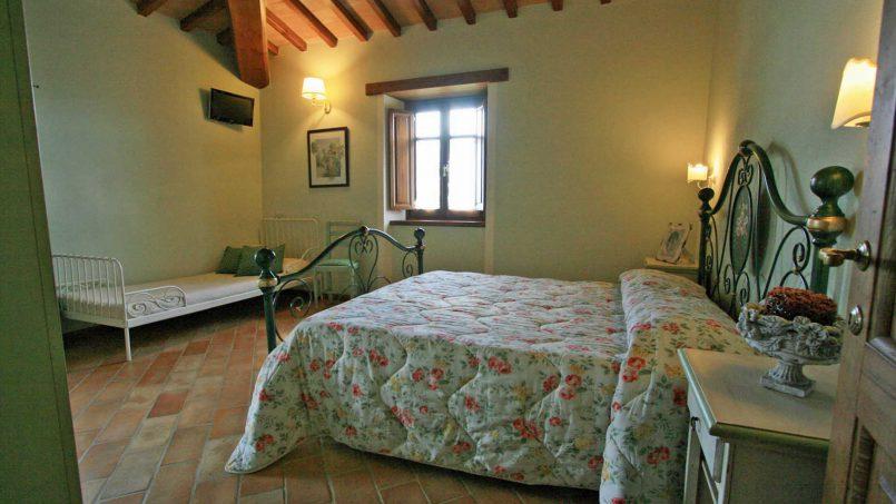Stone farmhouse Villa Simpatia Tuscany Bibbiena 56
