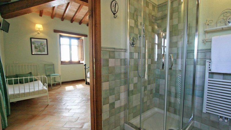 Stone farmhouse Villa Simpatia Tuscany Bibbiena 57
