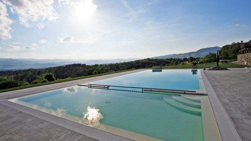 Stone farmhouse Villa Simpatia Tuscany Bibbiena 6