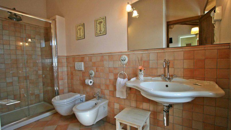 Stone farmhouse Villa Simpatia Tuscany Bibbiena 61