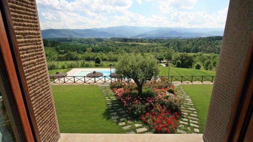 Stone farmhouse Villa Simpatia Tuscany Bibbiena 65