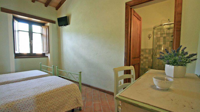 Stone farmhouse Villa Simpatia Tuscany Bibbiena 67