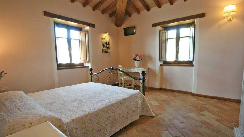 Stone farmhouse Villa Simpatia Tuscany Bibbiena 69