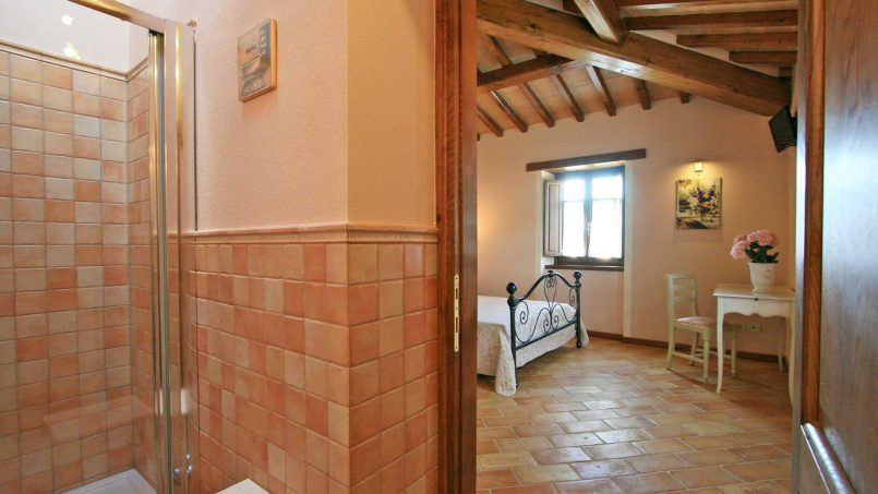 Stone farmhouse Villa Simpatia Tuscany Bibbiena 71