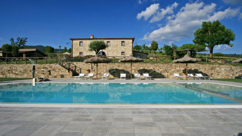 Stone farmhouse Villa Simpatia Tuscany Bibbiena 9