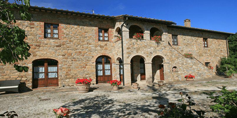 Hillside Villa Toscana Tuscany Radicondoli pan-1