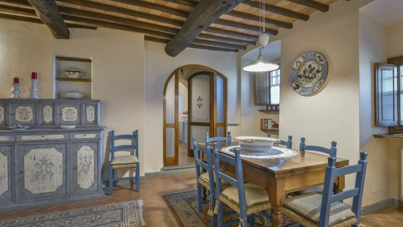 Hillside country house Villa il Roseto Tuscany Casalguidi 18