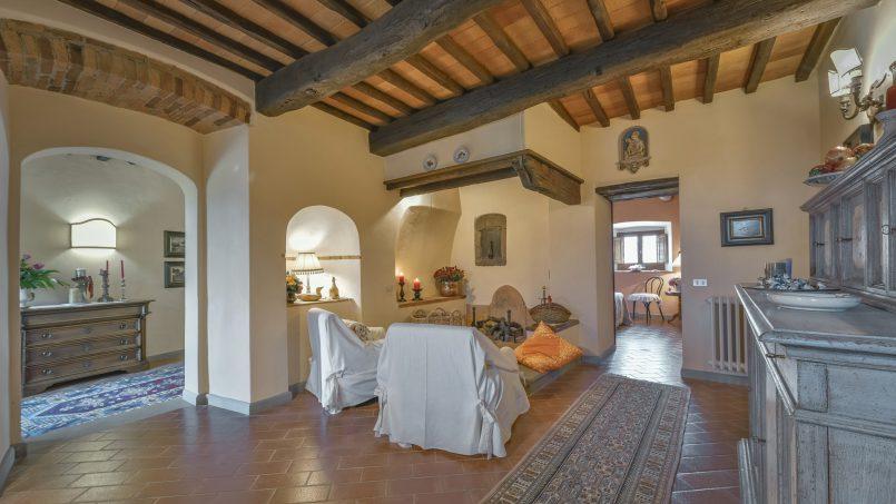 Hillside country house Villa il Roseto Tuscany Casalguidi 19