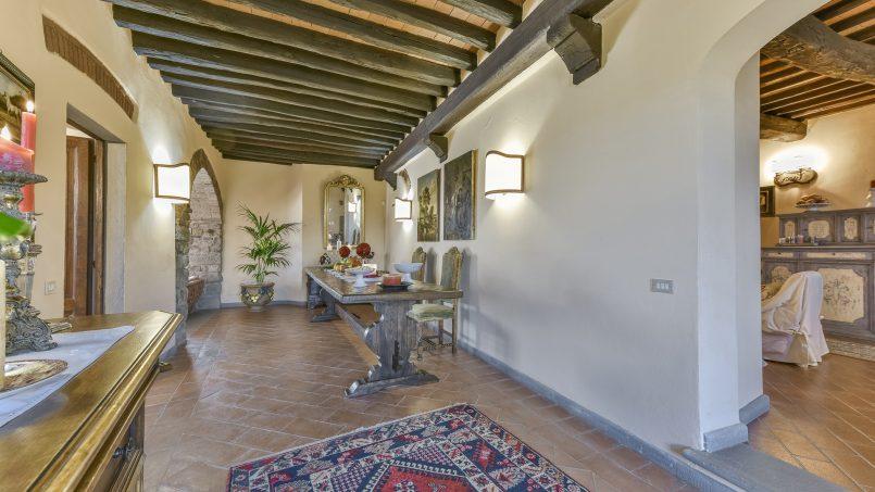 Hillside country house Villa il Roseto Tuscany Casalguidi 27