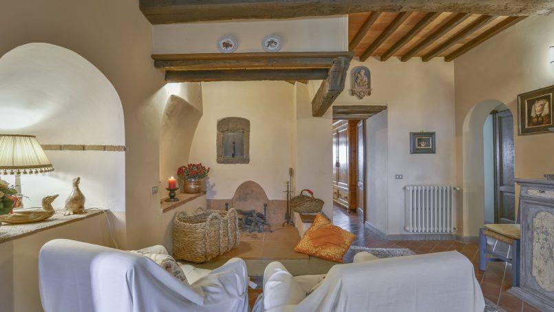 Hillside country house Villa il Roseto Tuscany Casalguidi 28
