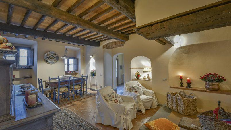 Hillside country house Villa il Roseto Tuscany Casalguidi 30