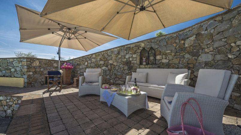 Hillside country house Villa il Roseto Tuscany Casalguidi 66