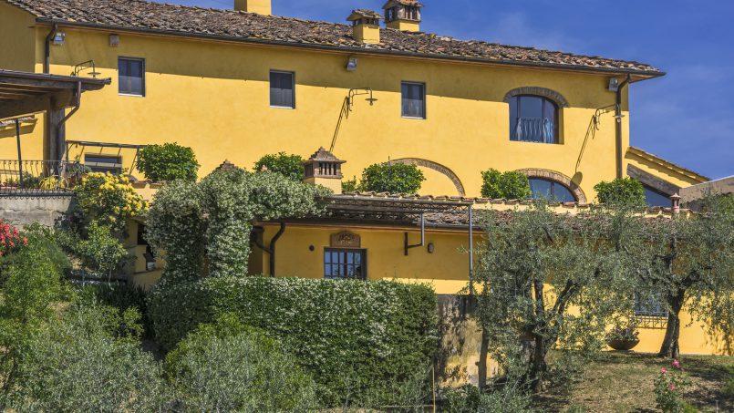 Hillside country house Villa il Roseto Tuscany Casalguidi 52