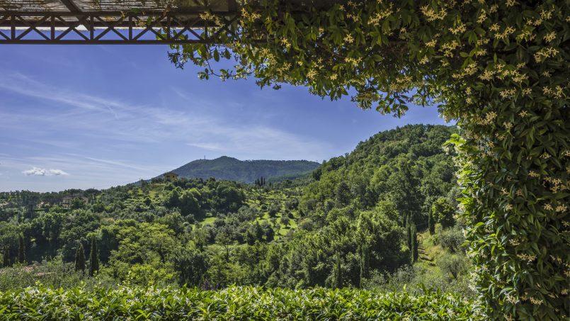 Hillside country house Villa il Roseto Tuscany Casalguidi 53