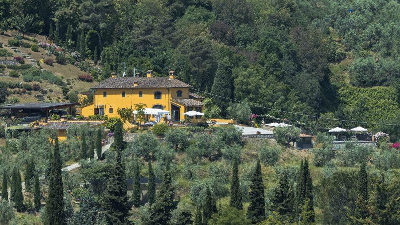 Hillside country house Villa il Roseto Tuscany Casalguidi 58