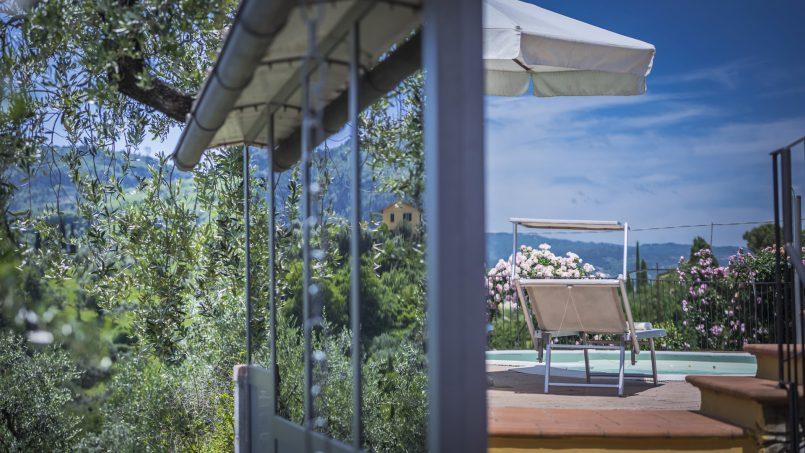 Hillside country house Villa il Roseto Tuscany Casalguidi 60