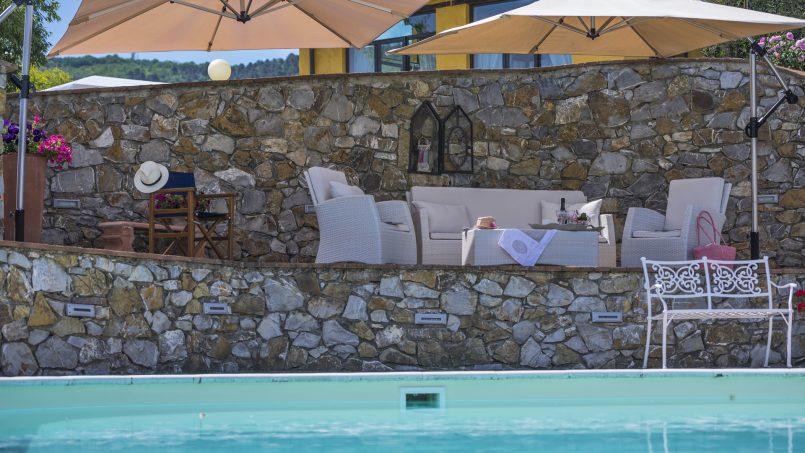 Hillside country house Villa il Roseto Tuscany Casalguidi 61