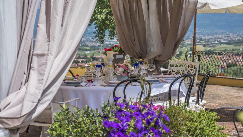 Hillside country house Villa il Roseto Tuscany Casalguidi 63