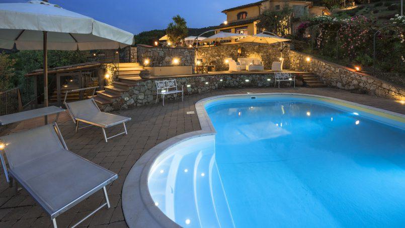 Hillside country house Villa il Roseto Tuscany Casalguidi 73