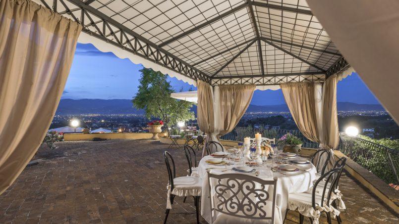 Hillside country house Villa il Roseto Tuscany Casalguidi 76