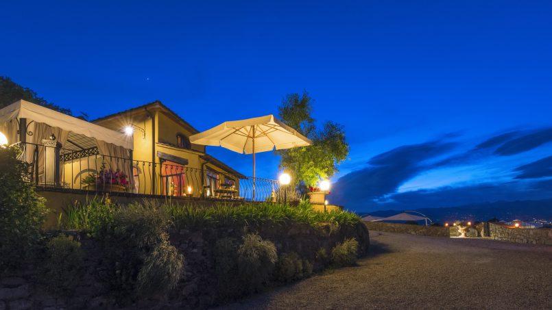 Hillside country house Villa il Roseto Tuscany Casalguidi 77