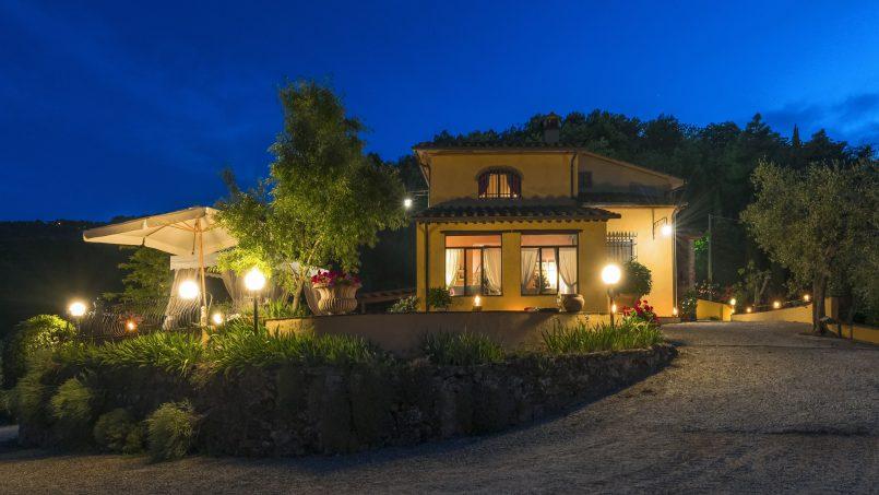Hillside country house Villa il Roseto Tuscany Casalguidi 78
