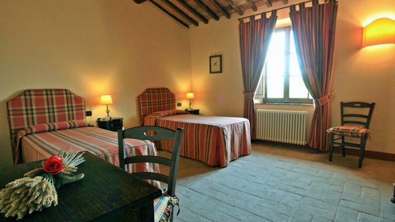 Stone farmhouse Villa Montebello Tuscany Montalcinello 106