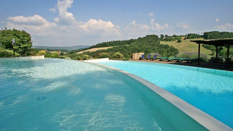 Stone farmhouse Villa Montebello Tuscany Montalcinello 34