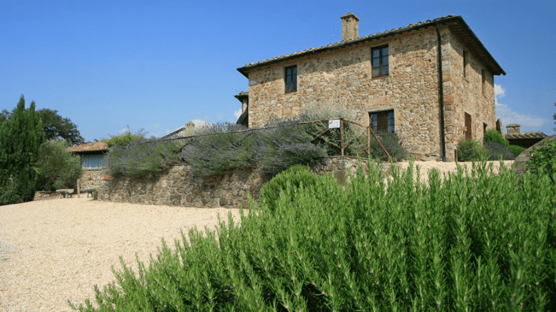 Stone farmhouse Villa Montebello Tuscany Montalcinello 51