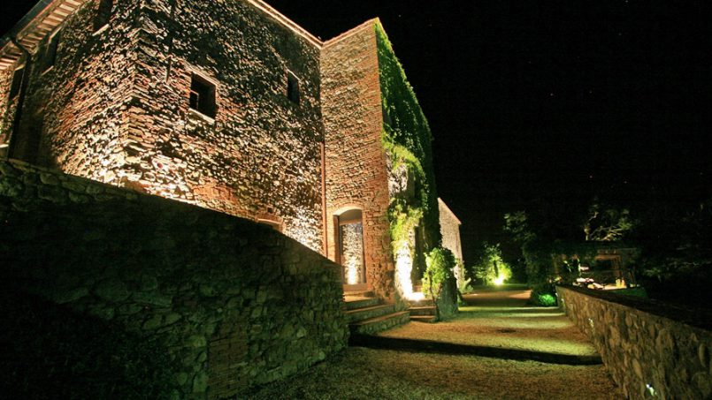 Stone farmhouse Villa Montebello Tuscany Montalcinello 64